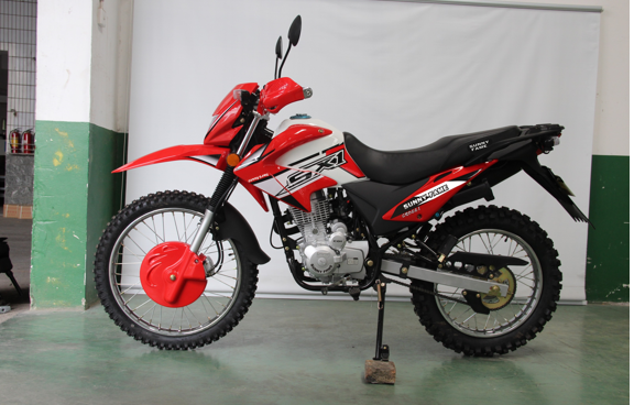 $588/unit-CROSS I OFF ROAD  motorcycle(HONDA CRF series, 150cc CG engine. Mono Rr.shock absorber. Fr.disc, Rr.drum brake. Fr.80/100-21, Rr.110/100-18 deep knob off road tyre. With grip cover, half chain cover)