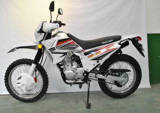 $583/unit-CROSS II OFF ROAD  motorcycle(HONDA CRF series,  150cc CG engine. Mono Rr. shock absorber. Fr.disc, Rr drum brake. Fr.80/100-19, Rr.110/100-18 deep knob off road tyre.With grip cover, half chain cover.)